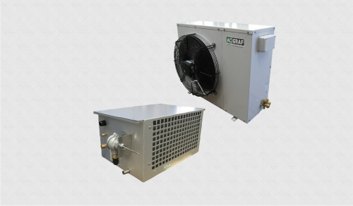 Split Air Conditioner Dof Container And Shelter Atex
